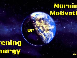 Morning Motivation Or Evening Energy?