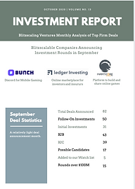 October Investment Report