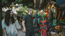 Olvera St. Engagement Shoot