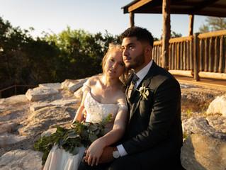 Dreamy Camp Micro Wedding in Marble Falls, TX