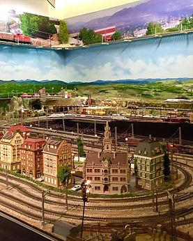 Maquetas del Museo del Ferrocarril de Las Rozas
