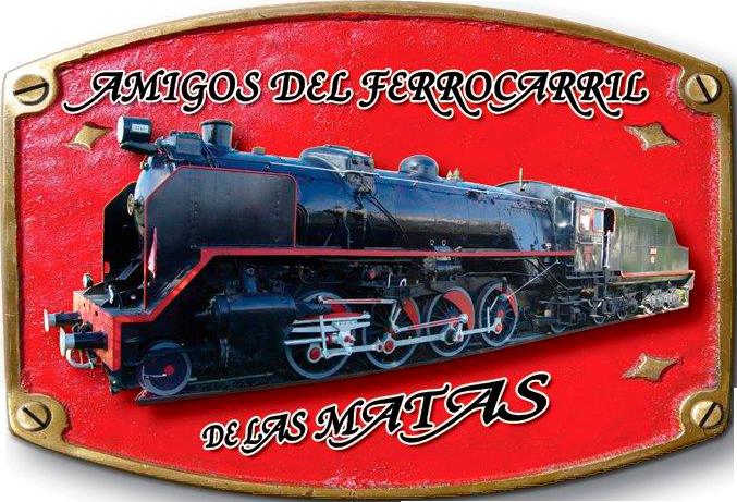 Logo de la Asociación de Amigos del Ferrocarril de Las Matas