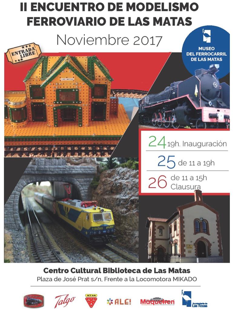 Encuentro de modelismo ferroviario en Las Rozas