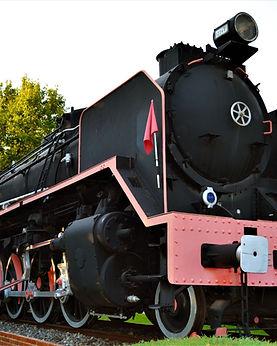 Locomotora Mikado de Las Rozas