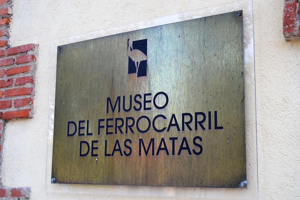 Museo del Ferrocarril de las Matas, perteneciente al Ayuntamiento de Las Rozas