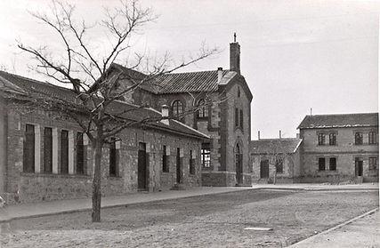 Capilla y escuela del Barrio Ferroviario de Las Matas