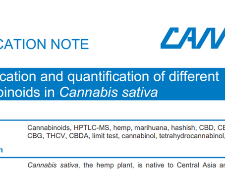 Identification and quantification of different  cannabinoids in Cannabis sativa by HPTLC