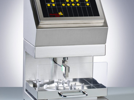 PTBA 211E ampoule breakpoint tester for controlling quality of empty ampoules