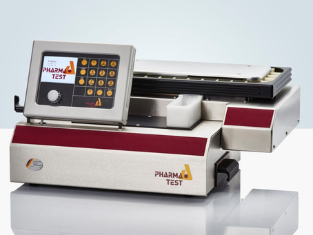 Pharma Test Automated Tablet testers with extended range 10-1000N