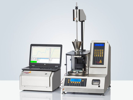PTG-NIR automatic powder and granule inspection system with an integrated NIR spectrometer
