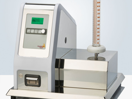 New Pharma Test Tapped and Apparent Density Testing Instrument