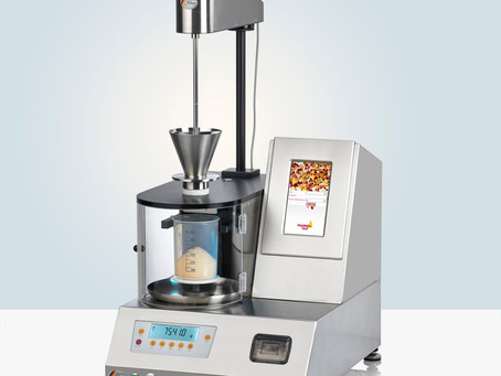 The New Automated Powder Flow Analyzer PTG-S5 is Now Available!