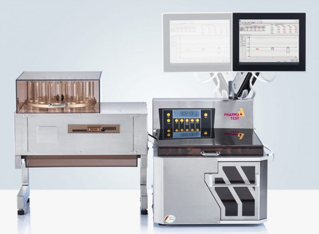 The New WHT 4 for Fully Automated Tablet Hardness Testing