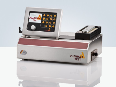AUTOMATED TABLET HARDNESS TESTER WITH BALANCE CONNECTION