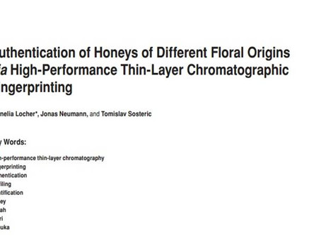 Authentication of Honeys of Different Floral Origins using HPTLC fingerprinting