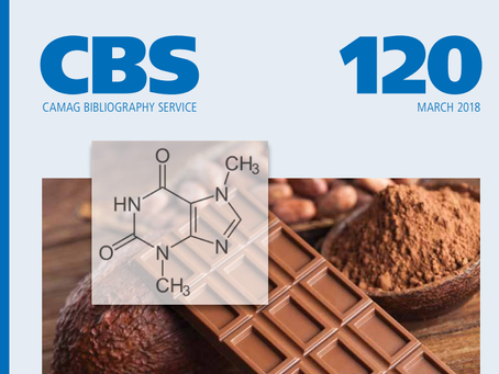"Latest CAMAG CBS120 includes ""HPTLC quantification of cocoa ingredients and their changes durin"