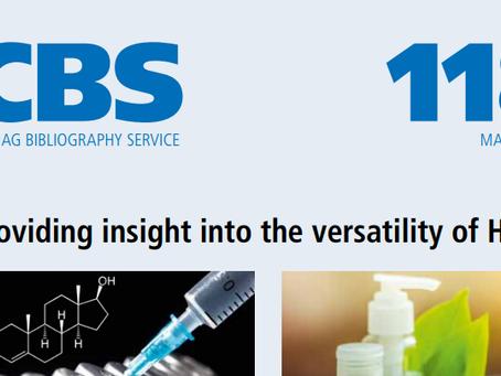 "Latest CAMAG CBS118 ""Providing insight into the versatility of HPTLC"""