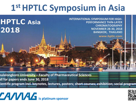 1st HPTLC Symposium in Asia
