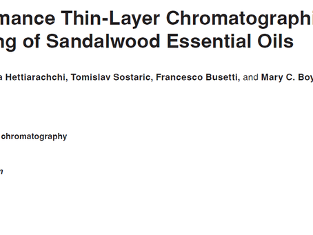 HPTLC fingerprinting of Sandalwood Essential Oils