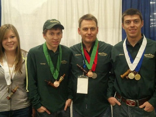 Buckner Custom Calls Brings Home 6 Medals at NWTF Grand National Competition