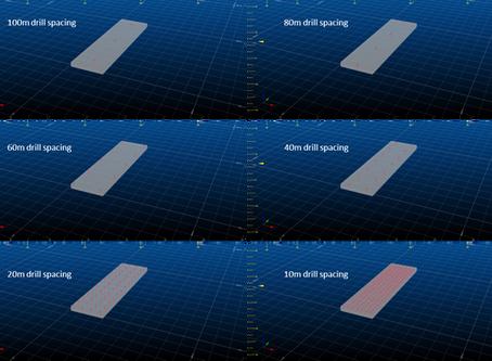 Drillhole Spacing Studies