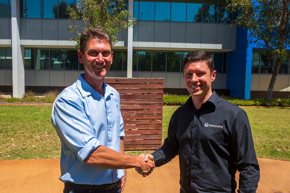 Ben Auld of Mining Plus and  Callum McCracken of Minnovare, are thrilled by the new collaboration and the opportunity to provide value to clients globally.