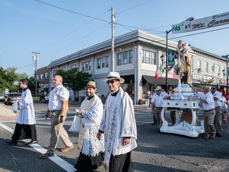 Crowds return for Mt. Carmel Feast