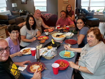 Hammontonians discuss 'Sunday dinner'