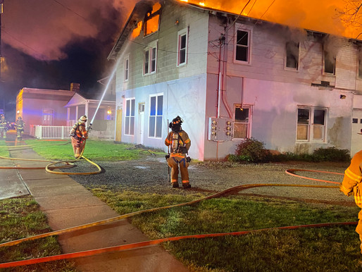 Two devastating residential fires