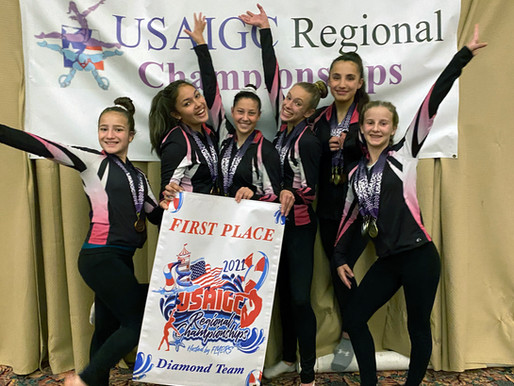 Flyers take first at Regionals