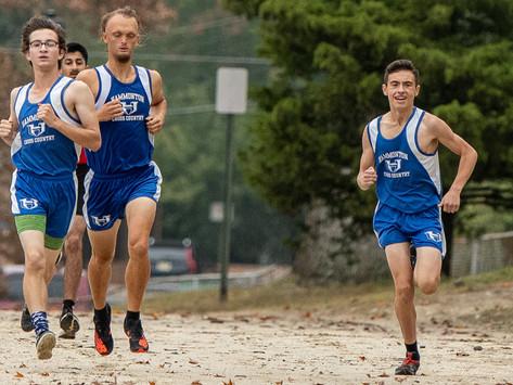 Hammonton High Schoolboys XC run to win
