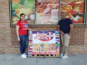 Fresh food at Latino Food Market