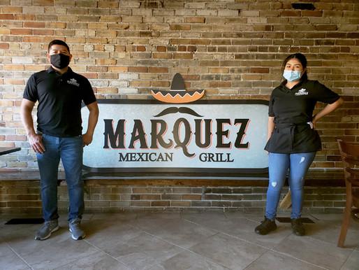 Authentic cuisine at Marquez