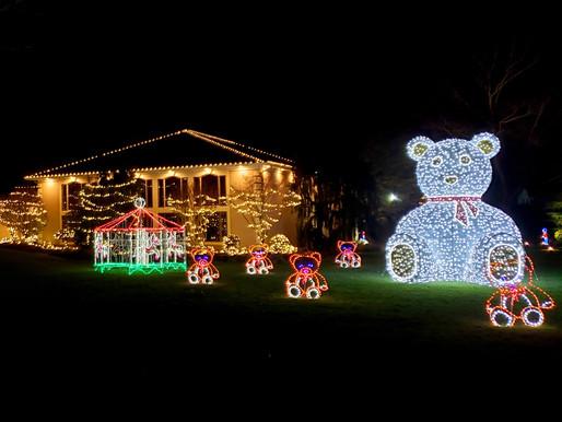 Decorated homes make Christmas memories