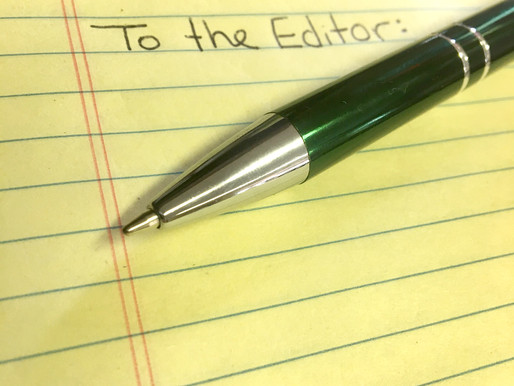Letters to the Editor: Legalization of Marijuana