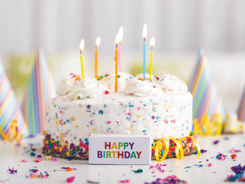 On birthdays, blended families and becoming a man