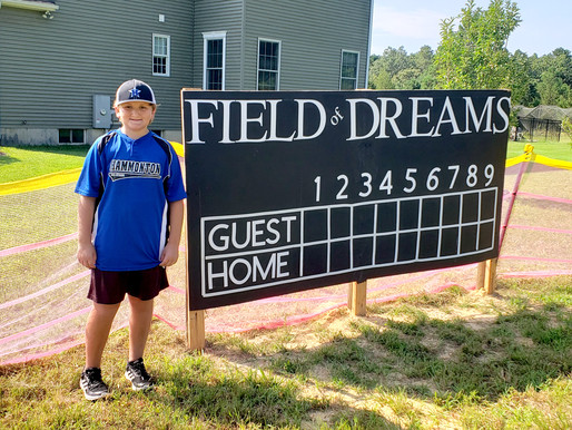 Homegrown Field of Dreams
