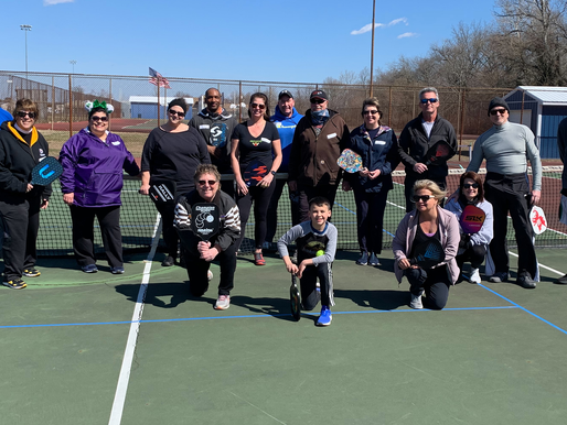 Pickleball gaining popularity in town