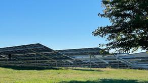 Solar array at high school: A hideous obstruction