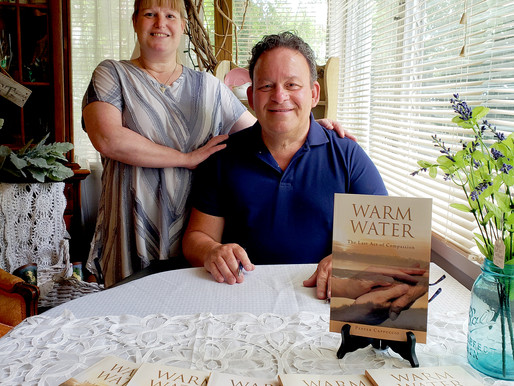 Local author holds book signing