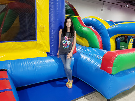 Jump around at The Bounce House