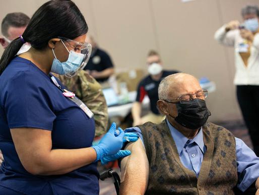 AtlantiCare administers 100,000 vaccination