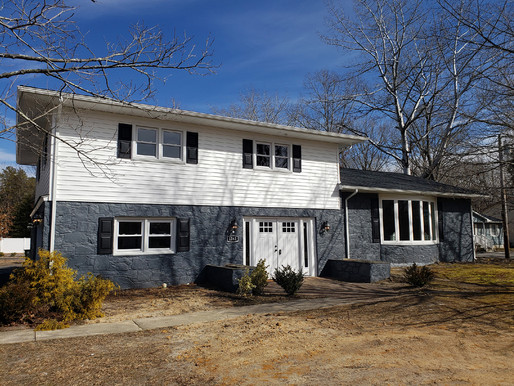 Renovated home on Moss Mill Road