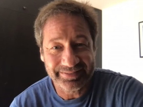 Discussing the many talents of David Duchovny