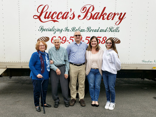 Family warmth at Lucca's Bakery