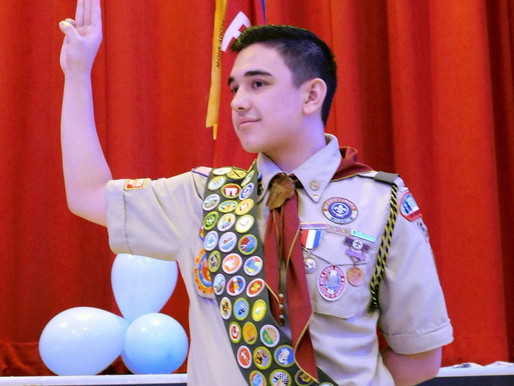 Court of Honor for Eagle Scout Carson Lee