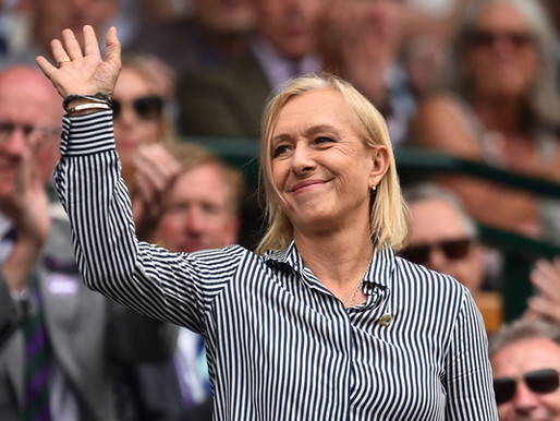 Navratilova to exec. produce doc on tennis legends