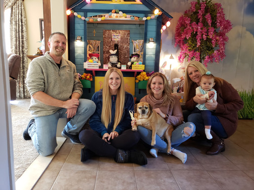 Mauro fills home with holiday cheer