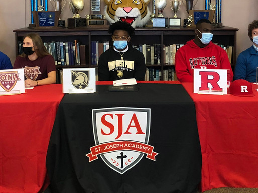 Seven St. Joe athletes headed to college