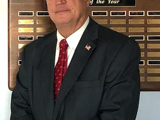 Mayor Hodson serving Egg Harbor Township